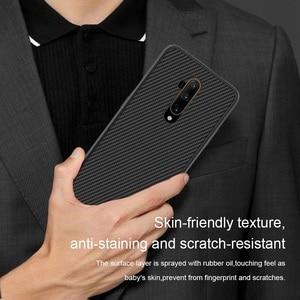 Image 2 - ل OnePlus 7T برو حافظة لهاتف One plus 8 NILLKIN قطعة بولي يوريثان سيليكون الرياضة نمط الغطاء الخلفي OnePlus 7 حافظة هاتف OnePlus 7 Pro