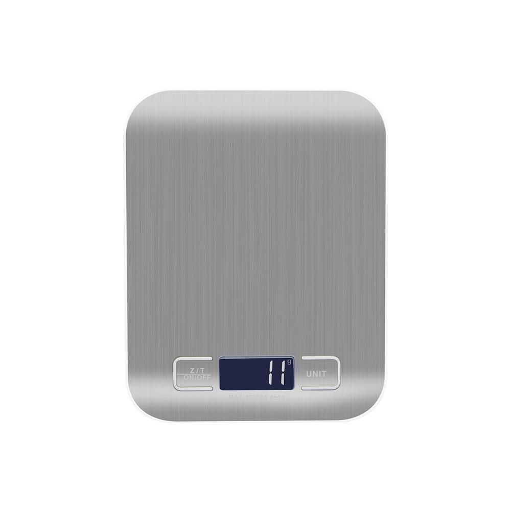 Цифровые весы 5 кг 10 кг 500 г 300 г 100 г Электронные мини карманные весы 1 г 0,1 г точные стальные весы для кухни Весы для еды
