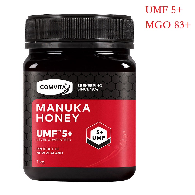 AUTHENTIC New Zealand Comvita Manuka Honey UMF5+ MGO83+ 1000g for Digestive Immune Health Respiratory System Cough Sore Throat