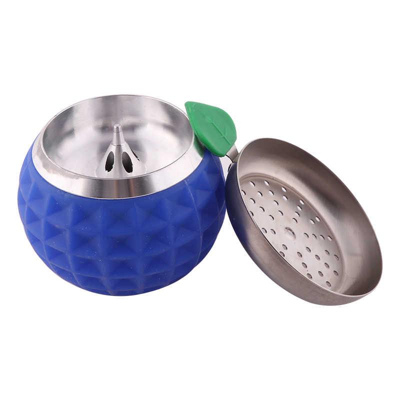 Suporte de silicone para cabeça de golfe, acessórios para nargila sheesha, tigela de narguela, peças de chicha