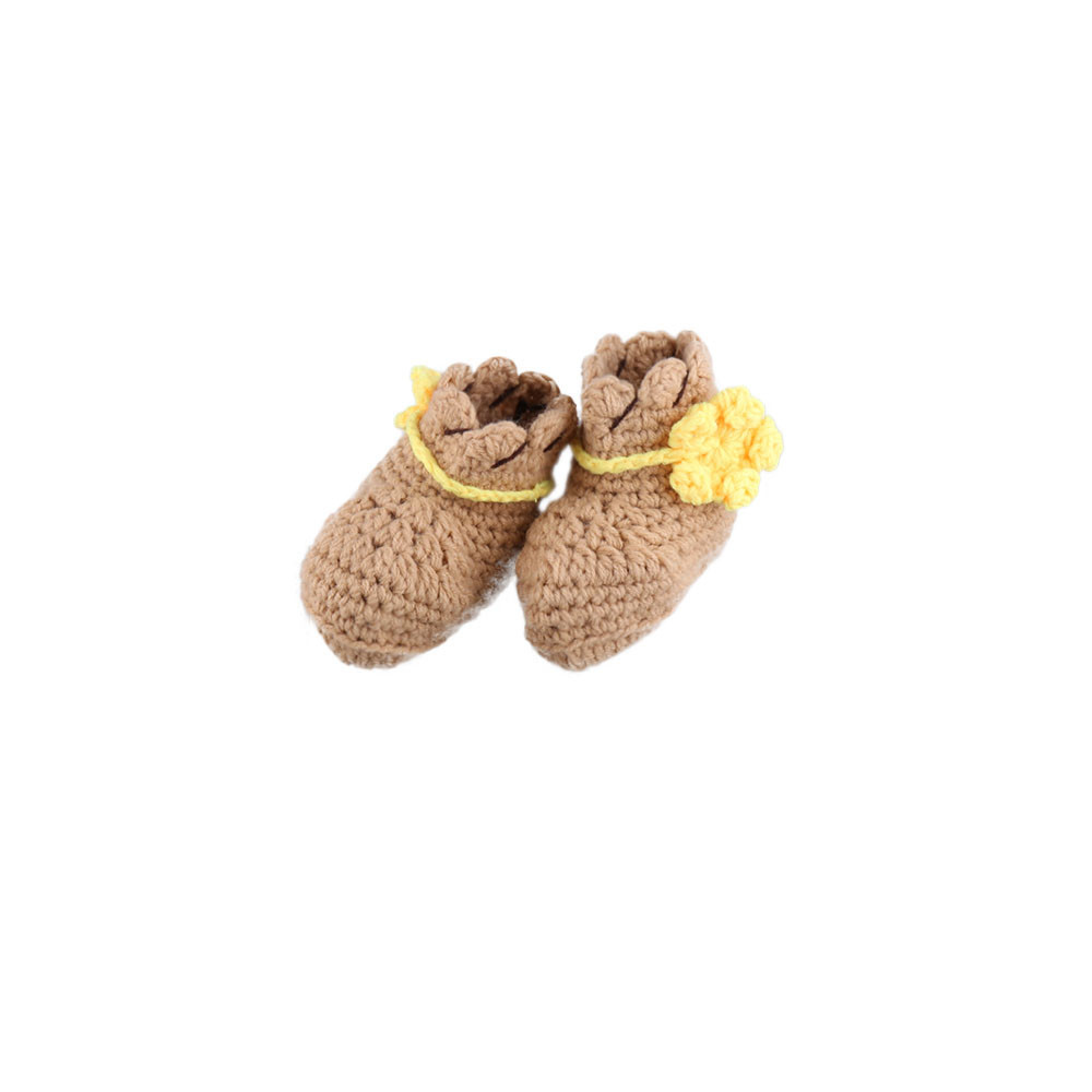 Newborn Baby Photography Props Cowboys Set Knitted Crochet Handmade Hat Infant Cosplay Costume Suit For Boys Woody Kids Clothing (Woody Suit One Size)