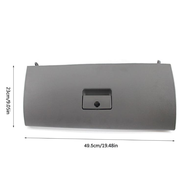 Q9QD Car Co-Pilot Glove Storage Box Decoration Cover Trim Compatible with Volkswagen-Golf 4 Bora 1J1857121A Door Lid Console