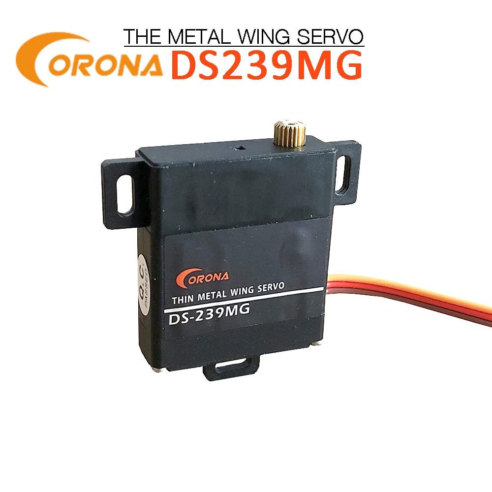 Corona DS-239 MG Flächen-Servo Digital Metall 4,0 4,6 kg 0,14sec 22g 4,8 6,0V