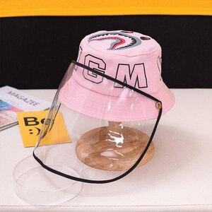 Детская противопыльная противотуманная шапка, подходит для детей в возрасте от 3 до 8 лет, Антивирусная Защитная крышка для лица, шапка с защ...