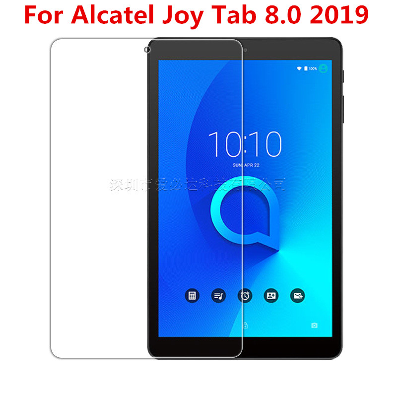 8 Inch Tempered Glass Screen Protector For Alcatel  Joy Tab 8.0 2019 Tablet Protective Film Guard With Package