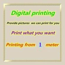 2021 Digital Printing Custom Fabric Printing Picture Garment Material Pattern Processing Custom