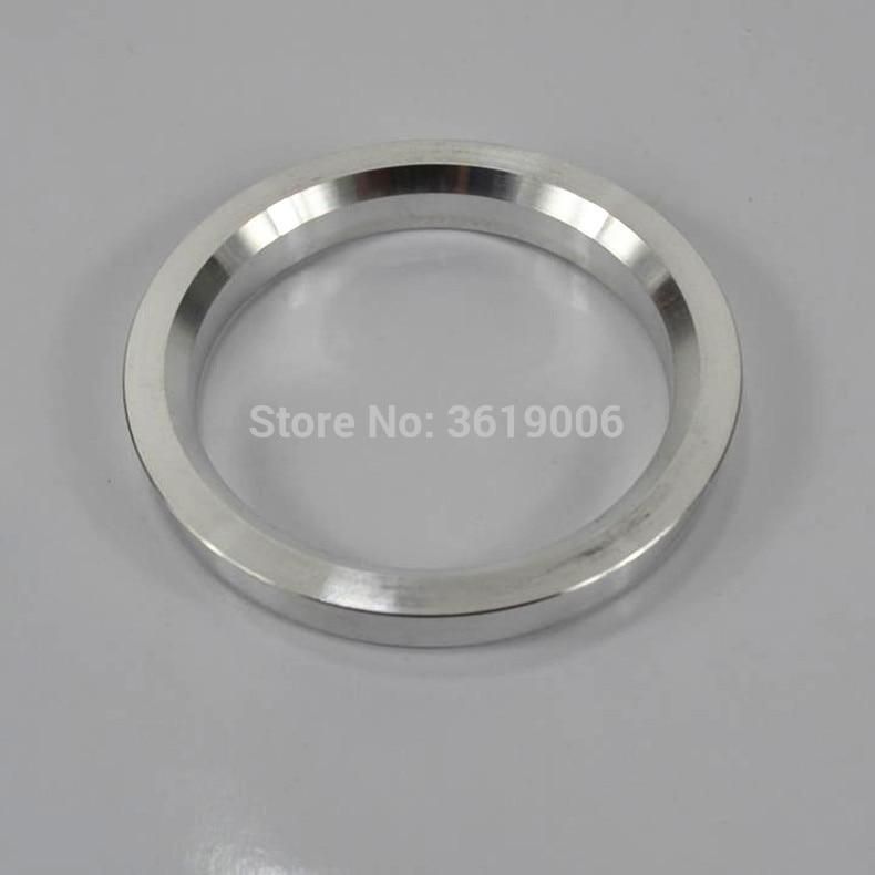 4Pcs 66.6-57.1mm Plastic Wheel Bore Center Collar Hub Centric Ring 4H