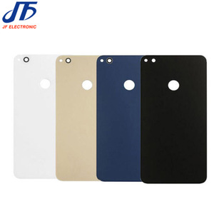 Image 4 - 5 pcs/lot back Glass Rear Housing Cover Replacement For HUAWEI For Honor 8 lite Back Door Hard Battery case + Adhesive sticker