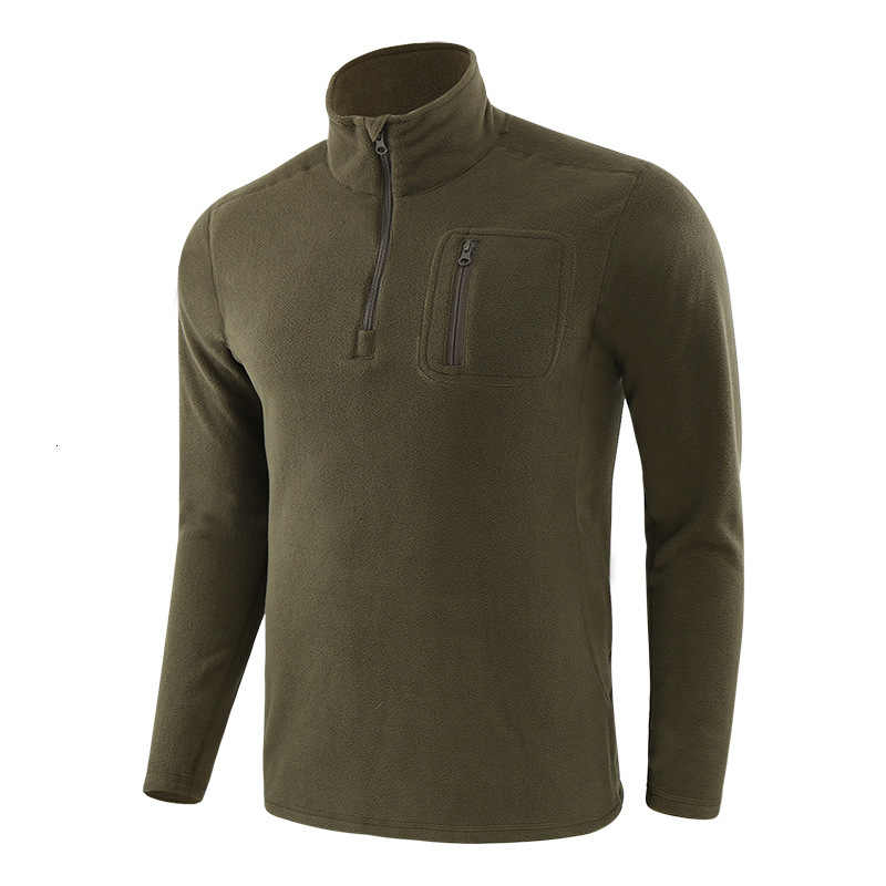 Mannen Outdoor Wandelen Warme Fleece Jas Liner Army Fans Militaire Training Tactical Jassen Herfst Winter Winddicht Trui Tops