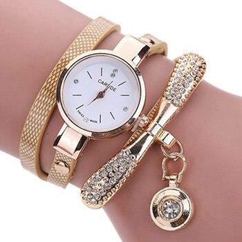 Women Watches Fashion Casual Bracelet Watch Multilayer Rhinestone Analog Quartz Clock Female Montre Femme Hand Decor - discount item  20% OFF Men's Watches