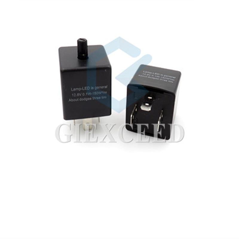 3-контактный мигающий светодиод, Реле частоты, регулируемые автомобильные фонарики