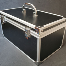 Case Aluminum-Alloy-Tool Box Safety-Equipment-Instrument Outdoor Portable 30x17x16cm