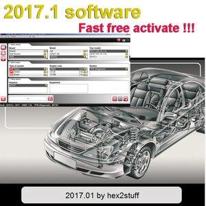 Image 3 - 2020 new!! 2017.3と車のトラック2016.0送料keygen dvd cdソフトウェアdelphis multidiag vdためtcs obd2修復ツール