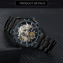 Fashion Ransparent Watch Automatic