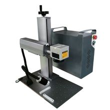double red pointer system fiber laser marking machine USB Port Laser Marking Engraving Machine raycus laser source цена 2017