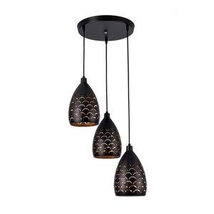 Image 2 - 1/3 ראשי כבל תליון תקרת מנורות לופט עבור מטבח Led תליון אורות חדר אוכל תליית אור מתקן Led תליון תאורה