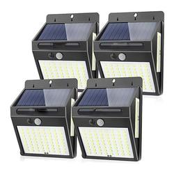 100 LED 600 lm lampy słoneczne na zewnątrz wodoodporny Super jasny bezprzewodowy czujnik ruchu pir ściany lampy uliczne bezpieczeństwa ogród Decorati na
