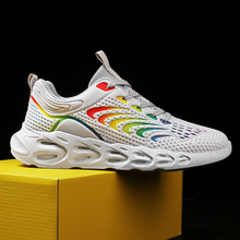 Men Sneakers outdoor Sports Vulcanize Shoes  Breathable Running Lace Up Tide shoes men Fashion 42