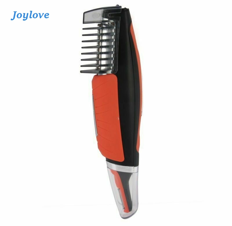 JOYLOVE New LED Multi-function Electric Double-head Shaver Nose Hair Trimmer Men Removal Machine Haircut 4 Combs Trimmer