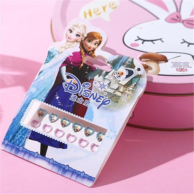 Frozen Anna Elsa Earrings Disney Princess Girls Studs