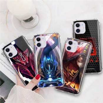 Airbag Anti Fall Capa For iPhone 7 8 11 Pro Max XS X XR 6 6S Plus SE 2020 Mobile Carcasa Coque Shadow Fiend Dota 2 2