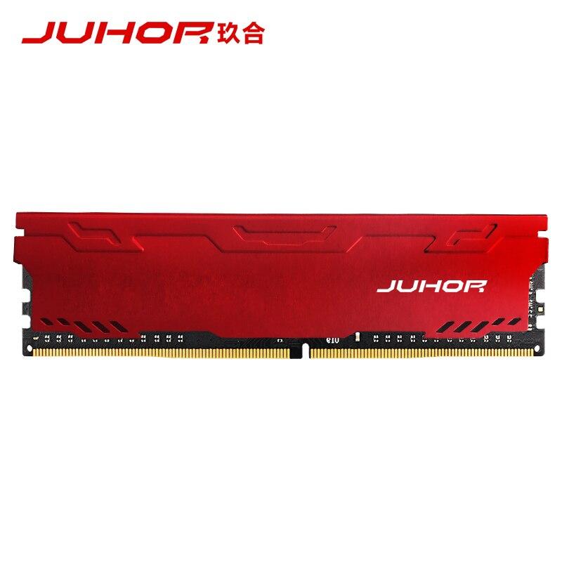 JUHOR ram memoria ddr4 4G 8G 16G 32G di memoria Sul Desktop udimm 2133mhz 2400mhz 2666mhz 3000mhz Nuovo dimm con dissipatore di Calore