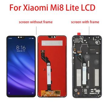 Original LCD Display + Frame Touch Screen per Xiaomi Mi 8 Lite/ Mi 8X 1