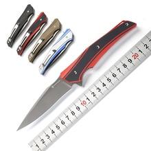 MAXACE ranger тактический складной нож XW42 лезвие KVT шарикоподшипник G10 Ручка Кемпинг Охота Открытый выживания Ножи EDC инструменты