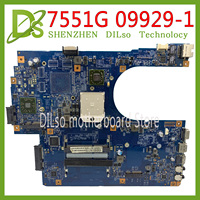 KEFU 7551G mainboard For Acer Aspire 7551 7551G laptop motherboard 48.4HP01.011 09929-1 100% original Tested