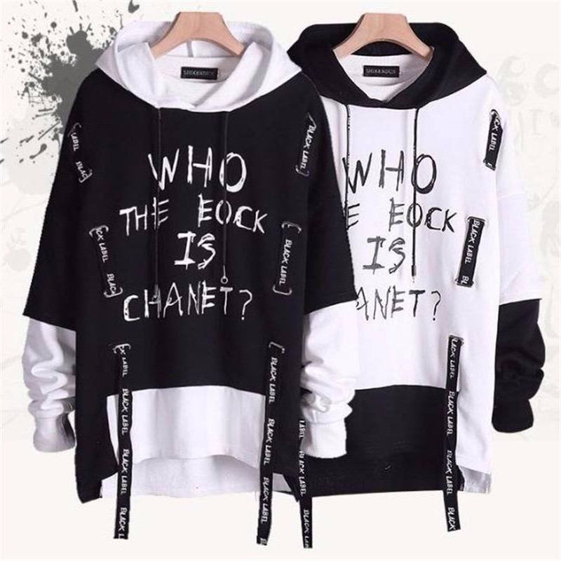 Cool Japanese Funny Printed Fleece Hoodies 2020 Winter Japan Hip Hop Casual Sweatshirts Streetwear Males Spring High Street Tops