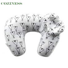 COZINESS U-shaped Nursing Pillow Baby Feeding Pillow Mommy Learning Maternity Supplies Bedding Multi-Color Breathable Washable