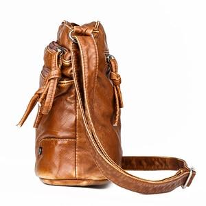 Image 4 - 2020 Quality Women Shoulder Bag Soft leather Purses And Handbags Daily Black Crossbody Bags for Women Designer Messenger Bag