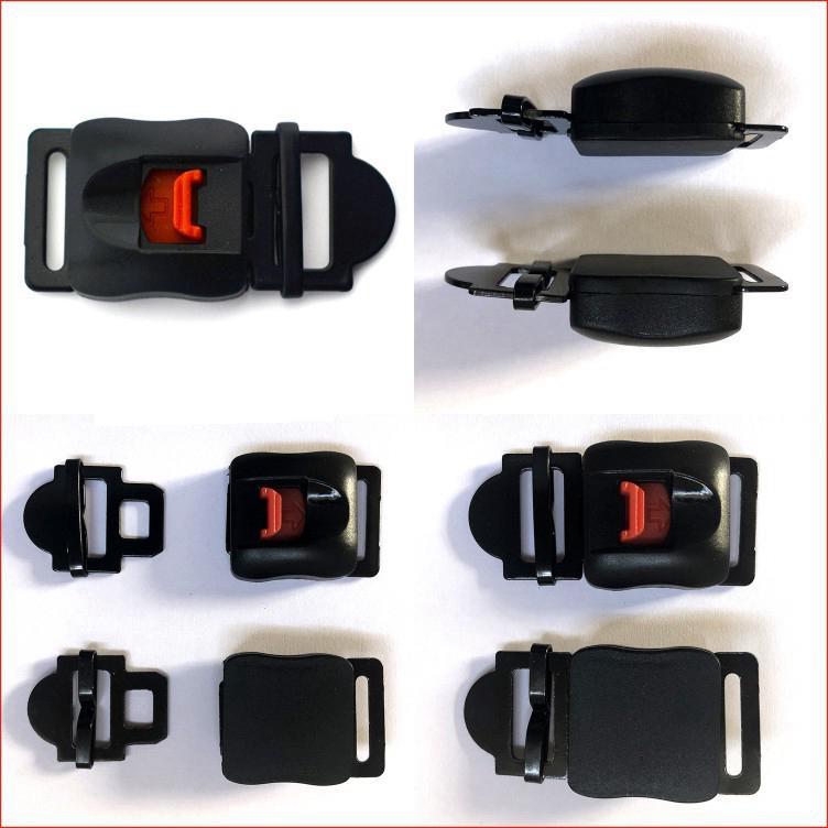Universal Fast Buckle Helmet Safety Buckle Lock Motorcycle Helmet Accessories Motorbike Motocross Parts Moto Buckles Lock