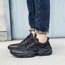 Zapatos casuales de lujo para hombre zapatos de plataforma vintage