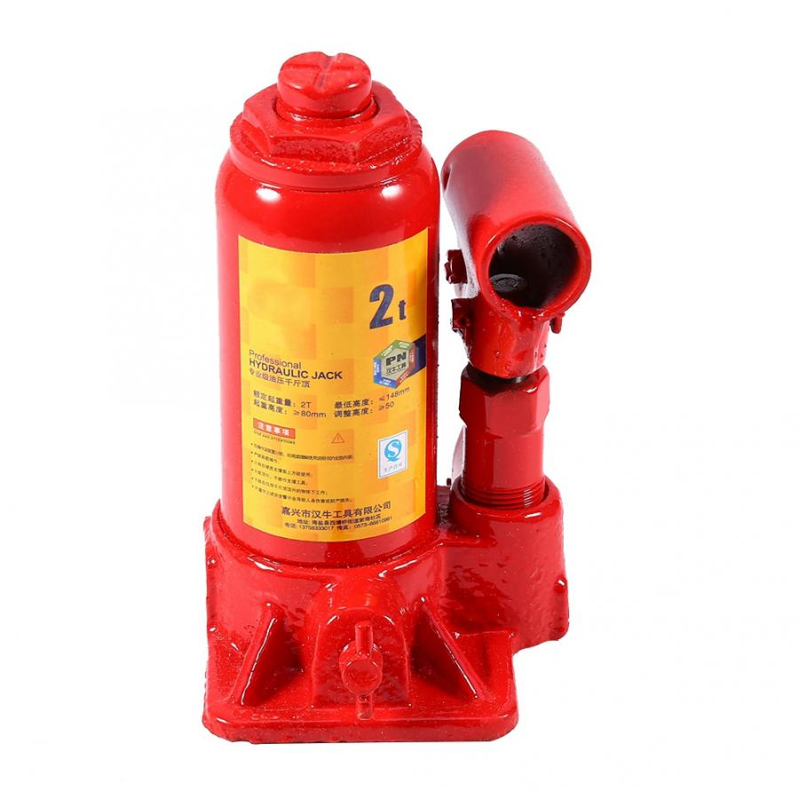Lifting Cranes 2T Capacity Car Lift Hydraulic Jack Automotive Lifter Vehicle Bottle Jack Repair Tool Chain Hoist Cable