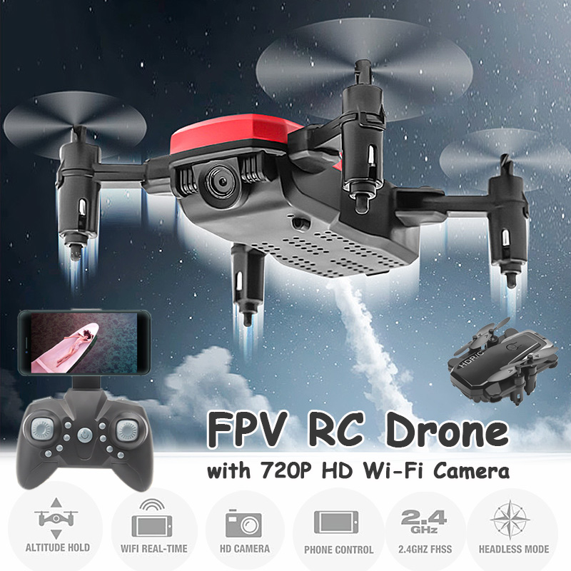 Wifi Camera Quadcopter Rc-Drone Remote-Control Foldable Mini With/without HD Rechargeable