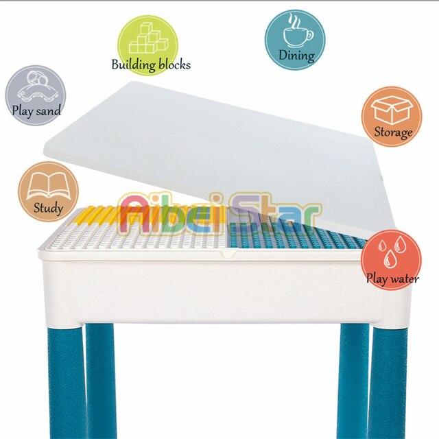 Mesa de madera para niños, mesa de estudio multifuncional, mesa de juego para niños compatible con partículas grandes