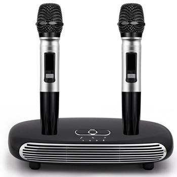 Digital Sound Audio Mixer Singing Machine Handheld Wireless Karaoke Microphone Karaoke player Home Karaoke Echo Mixer System k2 wireless mini family home karaoke echo system handheld singing machine box microphone karaoke player