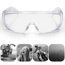 Protective-Eyewear Glasses Prescription with Clear Anti-Fog Scratch-Resistant Lenses-Use
