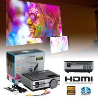 Full HD 1080P Projector 4K 7000 Lumens Cinema Proyector Beamer for Android WiFi hdmi VGA AV USB port
