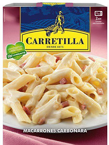Macarrones Carbonara Carretilla 325g