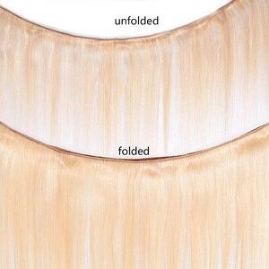Image 5 - 613 de encaje pelucas con minimechones para las mujeres negras 13x4 brasileño de la onda del cuerpo del pelo humano de Remy pelucas de encaje 150% densidad a Favor