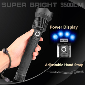 Image 3 - Most Powerful Lamp XHP70.2 Most Powerful Flashlight USB Zoom Led Torch XHP70 XHP50 18650 or 26650 Battery Best Camping, Outdoor