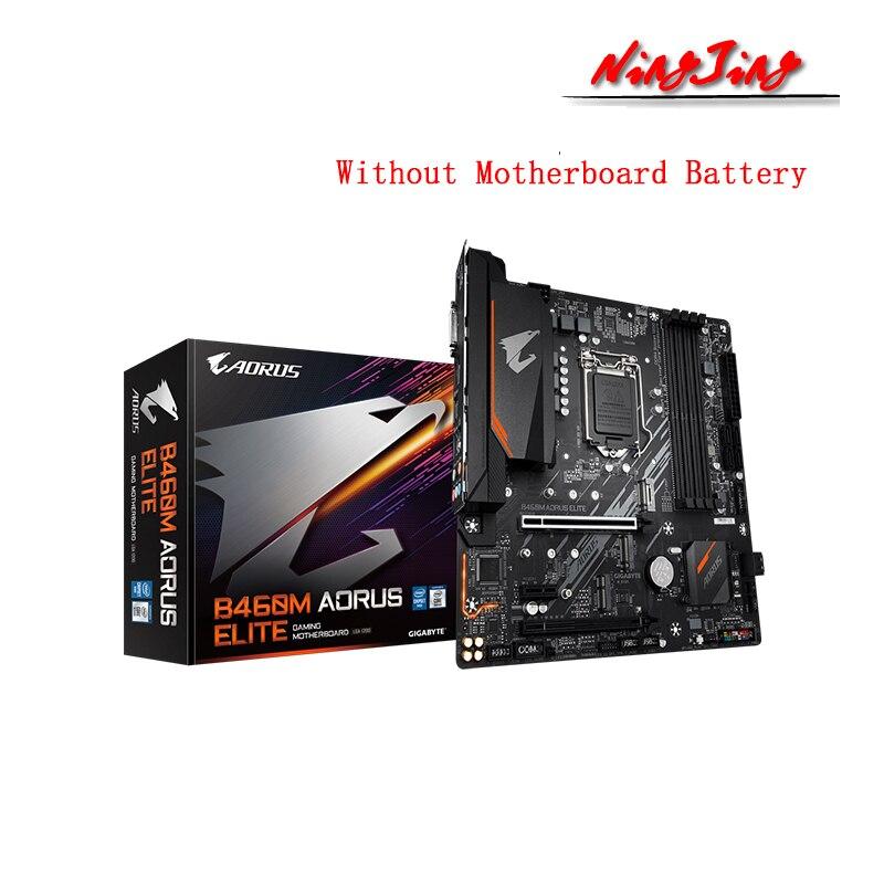 Gigabyte GA B460M AORUS ELITE (rev. 1,0) Micro-ATX Intel B460 DDR4 M.2 USB 3,2 128G поддержка 10 gen LGA 1200 CPU материнская плата
