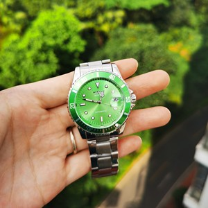 Image 5 - WINNER Official Classic Automatic Watch Men Business Mechanical Watches Top Brand Luxury Steel Strap Calendar Wristwatches hot