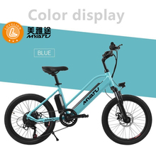 MYATU 20inch 36V Electric Power Mountain Bicycle ebike with Lithium-Ion Battery Standard Type Electric Bike electric bicycle ebike 36v lithium battery for imortor electric bike battery 36v 3200 mah black usb changer power bank imortor bateria ebike