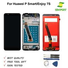 Grade AAA 5.65 inch LCD For P Smart LCD Screen Display+Touch Screen Digitizer Assembly For Huawei Enjoy 7S FIG-LX1 FIG-LA1 LCDs цены онлайн