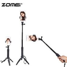 цена Zomei Handheld Mini Foldable Tripod 2 in 1 Monopod Selfie Stick Bluetooth Wireless Remote Control Shutter for Android & Iphone онлайн в 2017 году