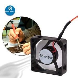 Image 5 - Mini Extractor de humo USB, 3CM, 7CM, 5V, soldadura de hierro, Extractor de humo, filtro de aire para teléfono, placa base, herramienta de reparación de soldadura