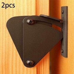 Zestaw zamka drzwi ze stali nierdzewnej czarna farba w sprayu powierzchni przesuwne Barn zatrzask|Zamki do drzwi przesuwnych|   -
